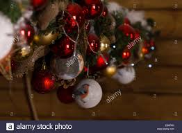 Winter Ball Decorations Macro Shot Of Hanging Assorted Winter Ball Decorations For 49