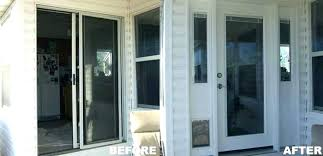 captivating how to repair sliding door 20 replacing with french doors locks replacement glass full image