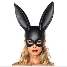 Factory Direct Price <b>1Pc Halloween Laides Bunny</b> Mask Party Bar ...