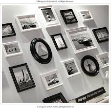 exquisite mediterranean style photo on the wall delicate romantic pure white combination picture frame wall vintage