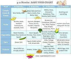 4 To 6 Month Baby Food Chart Can A 4 Month Old Eat Baby Food Karenlighting Co