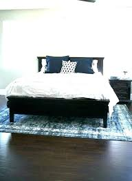rug size under king bed for queen area guide floors what throw sizes typical how to