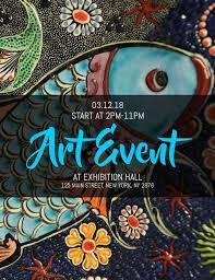 Art Event Flyer Art Event Flyer Template Postermywall