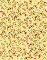 pizza pattern wallpaper. Unique Pizza Food Pattern Wallpaper Tumblr  Pizza And Trapezoids Intended R