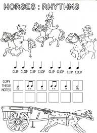 Music-worksheets-for-kids- & Rhythm Addition Music + Math ...