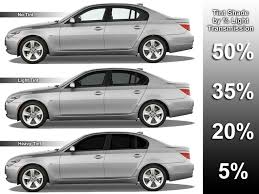 Window Tint Shades Chart Car Window Tinting Shades How Much Does Window Tinting Cost