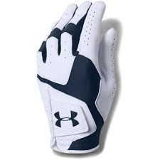 Under Armour Mens Coolswitch Golf Glove Left Hand White Academy