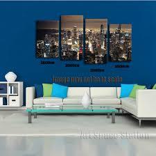 chicago skyline giant wall art home decor hd canvas print chicago