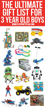 best gifts for 3 year old boys