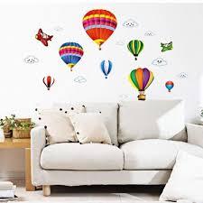 creative cartoon hot air balloon