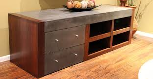 concrete and wood furniture. Concrete Entertainment Center And Wood Furniture