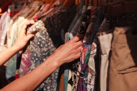 sifting through those budget friendly thrift finds photo istockphoto