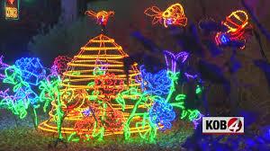 River Of Lights Parade Albuquerque Nm Albuquerque Biopark Launches Annual River Of Lights Display