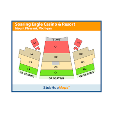 Soaring Eagle Seating Chart Indoors Soaring Eagle Casino Resort Events And Concerts In Mount