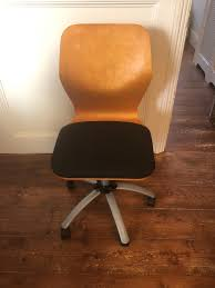 pine office chair. Pine-backed Adjustable Office Chair Pine H