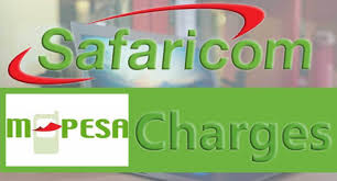 Mpesa Withdrawal Chart Mpesa Withdrawal Sending Charges 2020 From Agent Pdf Ugwire