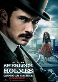 Poster 4 - Sherlock Holmes - Gioco di ombre