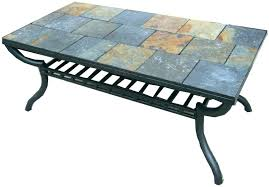 slate top patio tables tile top coffee table slate top coffee table slate tile coffee table