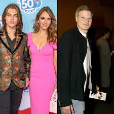 Elizabeth Hurley and Son Damian Hurley ...