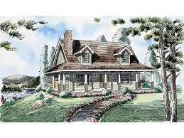 dormers and wrap around porch style this home