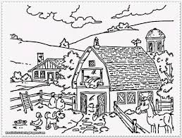 Small Picture Coloring Pages Of Animals On A Farm Coloring Pages
