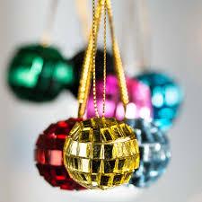 Mini Disco Ball Decorations Assorted Mini Mirror Ball Ornaments Christmas and Winter Sale 74