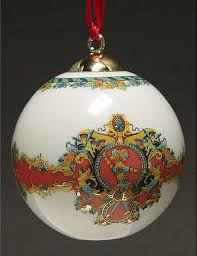 Rosenthal - Continental, Versace Christmas Ornament-Porcelain at ...