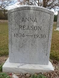 Anna Walston Reason (1874-1930) - Find A Grave Memorial