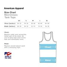 Tank Top Size Chart Men Trans Pride Tank Top