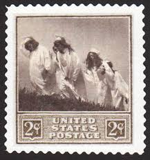 """The U.S. 2-cent """"Graduation"""" stamp, with photography by Wendy Carlson. 