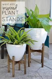diy furniture west elm knock. Beautiful Furniture West Elm Inspired DIY Wooden Plant Stands And Diy Furniture Knock S