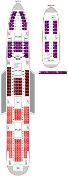Explanatory Seating Chart For Boeing 747 400 Boeing 747 8i