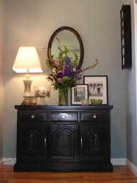 entryway table with drawers. cordial three drawer in furniture inspiration glorious black painted foyer tables and wall mounted mirror as entryway table with drawers