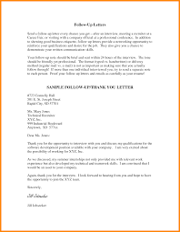 Sample Thank You Letter After Meeting Recruiter