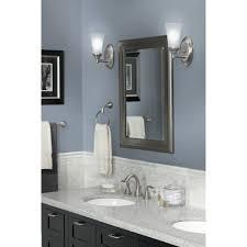 moen banbury bathroom accessories. Bathroom: Enthralling MOEN Banbury 3 Piece Bath Accessory Kit In Brushed Nickel Y2633BN At Moen Bathroom Accessories A