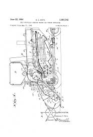 patent us2681542 self propelled combine header and feeder wiring diagram for m2 gleaner combine at Wiring Diagram For M2 Gleaner Combine