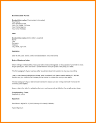 Template Proper Business Letter Lovely Email Sample Formal Official