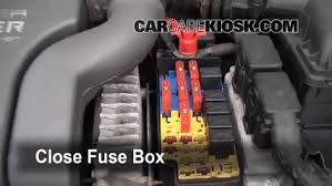 blown fuse check 1996 2000 plymouth breeze 1996 plymouth breeze 6 replace cover secure the cover and test component