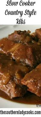 CountryStyle Barbecue Pork Rib Recipe  Barbecue Pork Ribs Pork Country Style Ribs Recipes Slow Cooker
