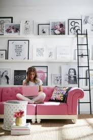 home office repin image sofa wall. Sneak Peek: YouTube Star MayBaby Has A Bright, Bold New Home-Decor Collab Home Office Repin Image Sofa Wall I