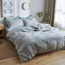 modern luxury bedding. Contemporary Luxury 3 Piece Solid Grey Luxury Bedding Set King Double Yarn Cotton Duvet Cover  Hotel Quality In Modern E