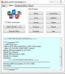 Ms Office 2016 Professional Pro For Win Mac With Genuine Activation