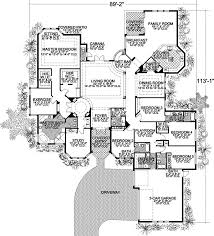 4 bedroom house plans one story fresh florida style house plans 5131 square foot home 1