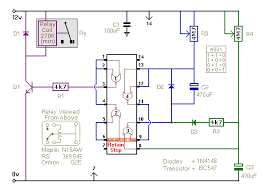how to build a simple repeating timer circuit circuit diagram for a repeating interval timer