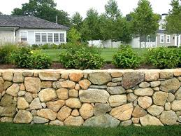 how to build a stone retaining wall without mortar building a stone wall retaining walls building stone wall building