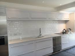 i much prefer the white grout it s a diffe look much softer look depends what you want my grout doesnt get dirty