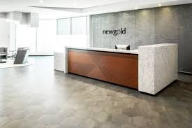 office reception designs. Corporate Office Reception Designs Custom White Quartz Desk New Gold Inc I