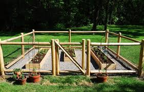 vegetable garden fence kit garden deer fence raised garden bed outdoor living today
