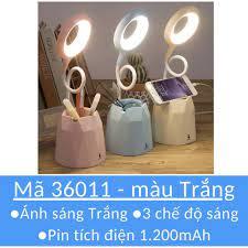 Đèn bàn học CHỐNG CẬN sạc tích điện ❤M36011❤Có giá để điện thoại❤Bảo hành 6  tháng - Đèn bàn