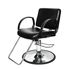 niki styling chair with chrome base beauty salon styling chair hydraulic